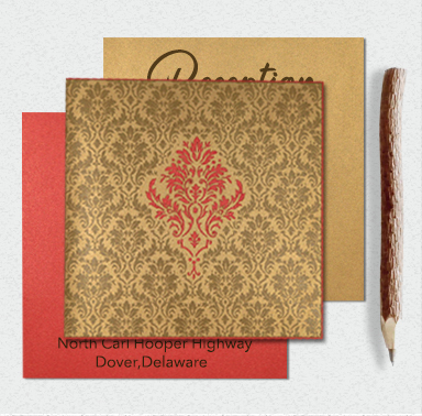 Indian Wedding Cards-A2zWeddingCards