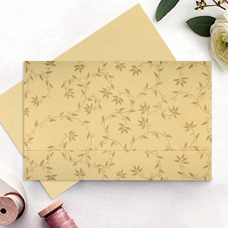 Floral Wedding Invitations-A2zWeddingCards
