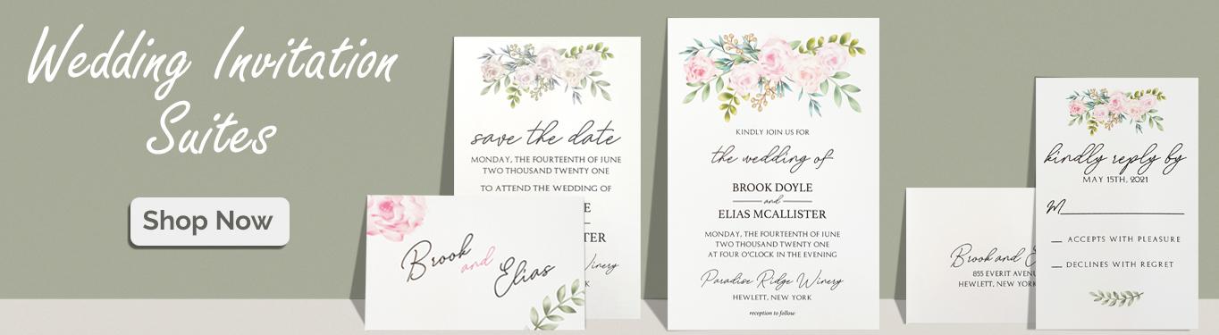 Wedding Invitations Suites-A2zWeddingCards