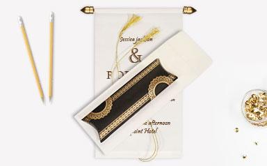Scroll-Wedding-Invitations-A2zWeddingCards