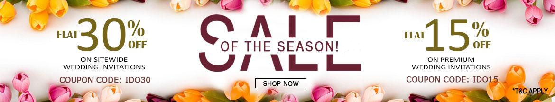 Sale of The Season-A2zWeddingCards