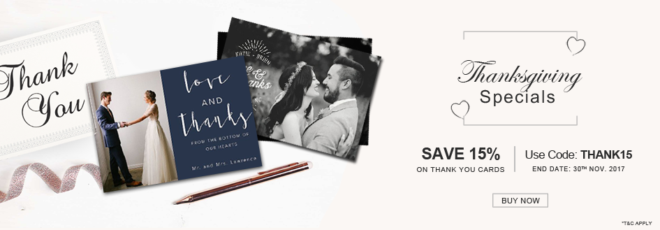 Thanks Giving Specials Thank You Cards Sale-A2zWeddingCards