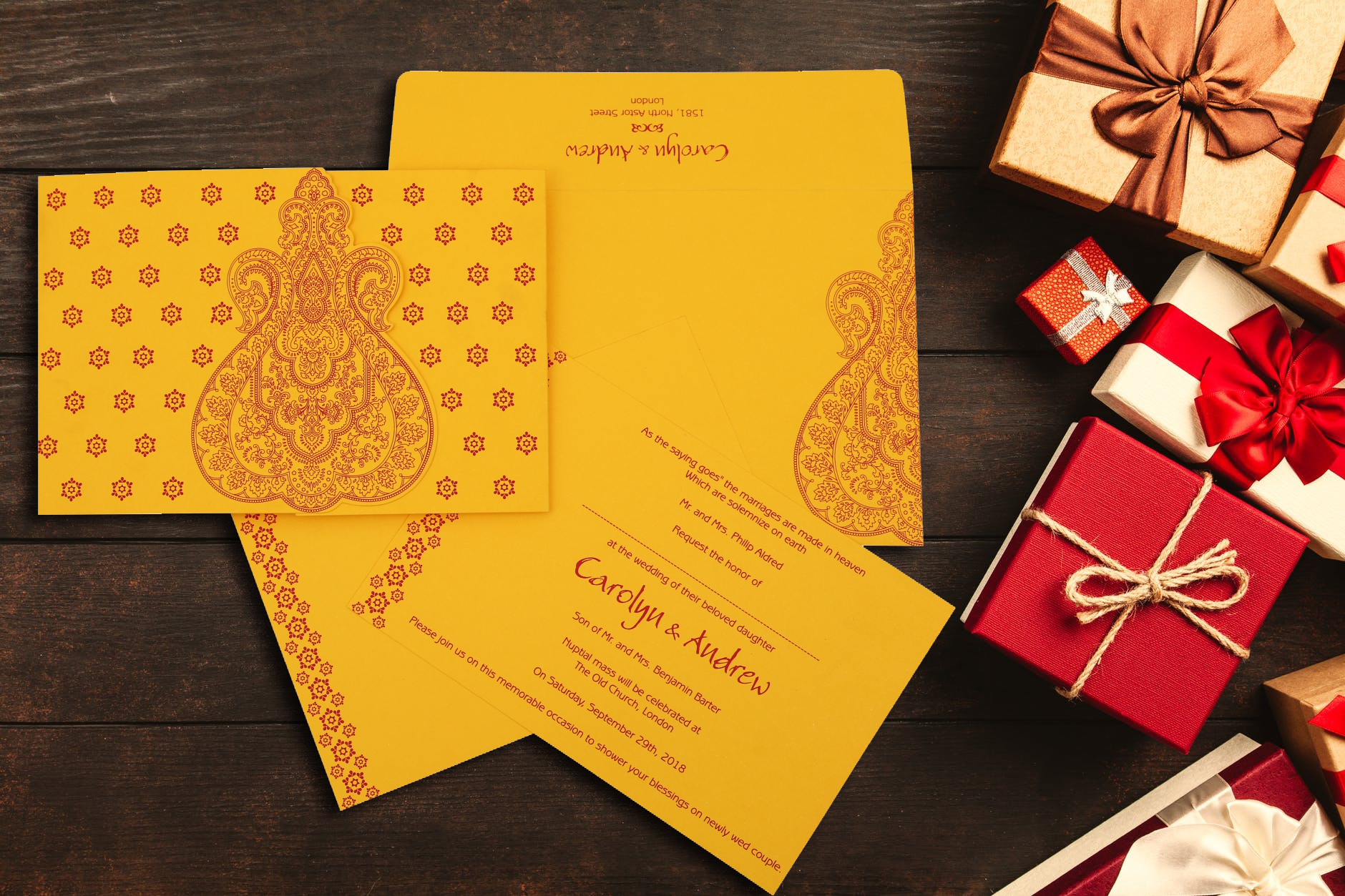 Hindu Wedding Invitations | Marriage Cards | A2zWeddingCards