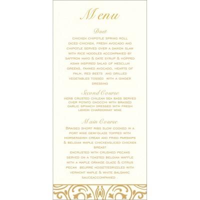 Menu Cards - MENU-1394