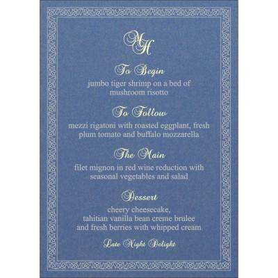 Menu Cards - MENU-8211O
