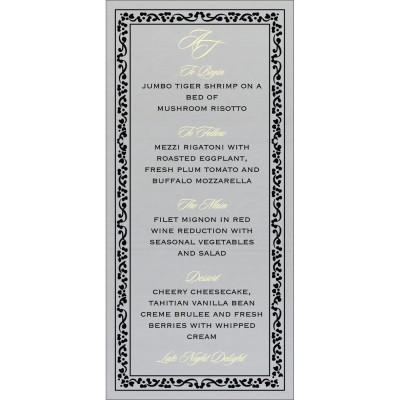 Menu Cards - MENU-8214N