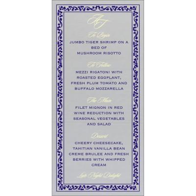 Menu Cards - MENU-8214Q