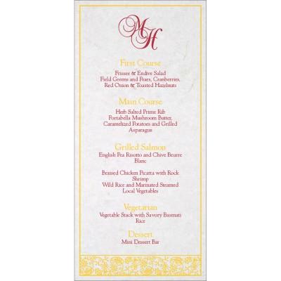 Menu Cards - MENU-8215H