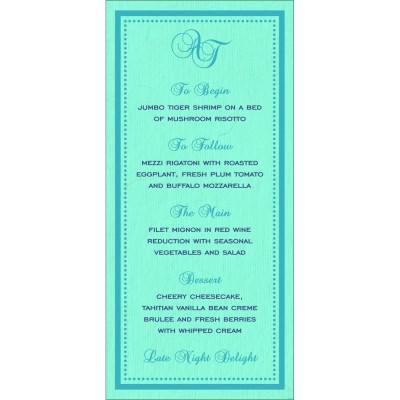 Menu Cards - MENU-8219C