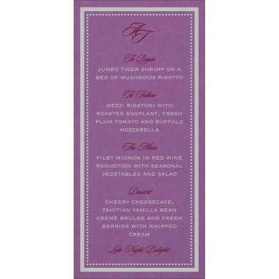 Menu Cards - MENU-8219O