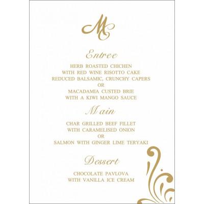Menu Cards - MENU-8223L