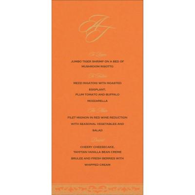 Menu Cards - MENU-8227D