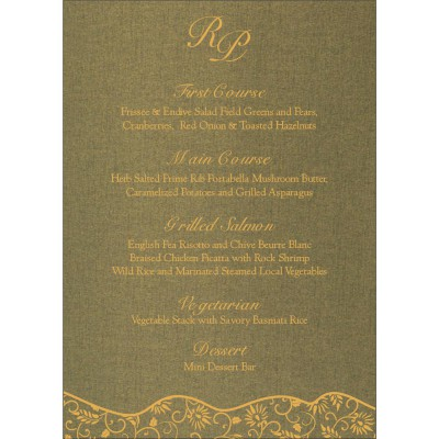 Menu Cards - MENU-8236H