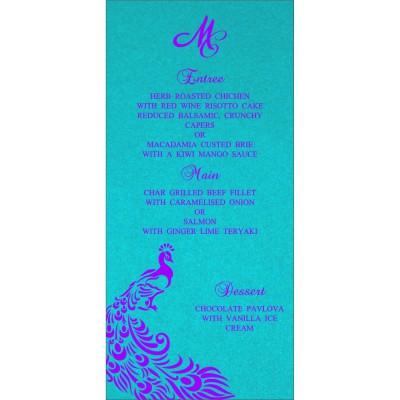 Menu Cards - MENU-8255E