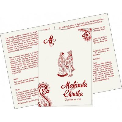 Program Booklet - PC-5015G