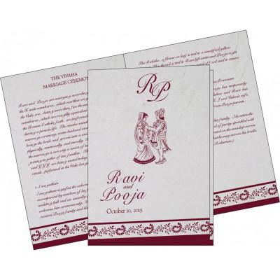 Program Booklet - PC-8208I