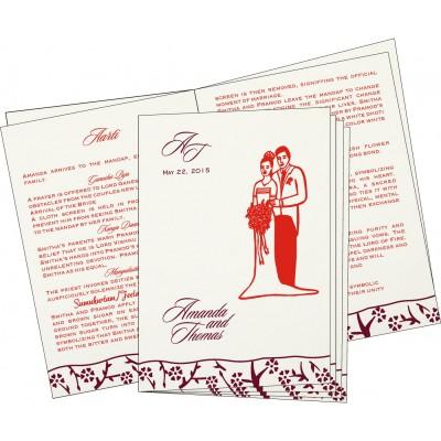 Program Booklet - PC-8216B