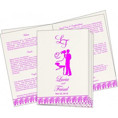 Program Booklet - PC-8218G