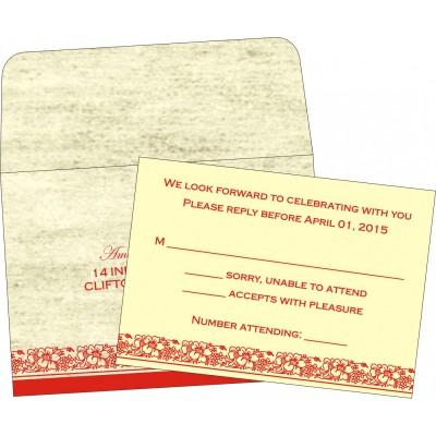 RSVP Cards - RSVP-8207A