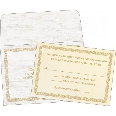 RSVP Cards - RSVP-8211G