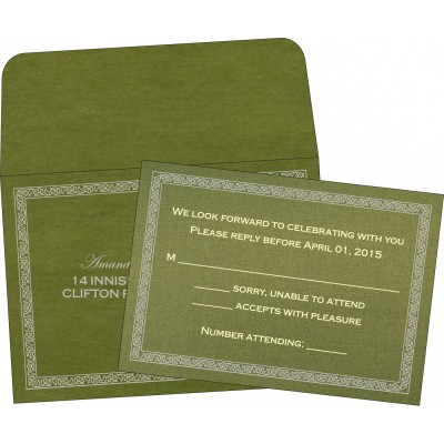 RSVP Cards - RSVP-8211M