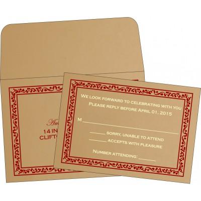 RSVP Cards - RSVP-8214A