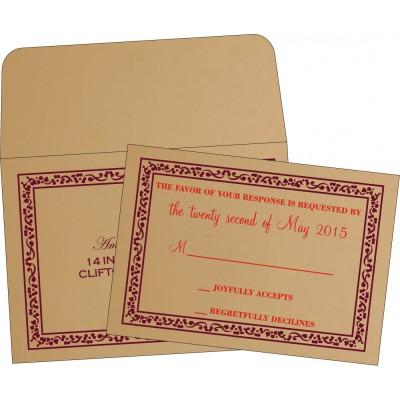 RSVP Cards - RSVP-8214C
