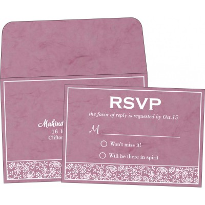 RSVP Cards - RSVP-8215J