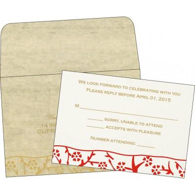 RSVP Cards - RSVP-8216A