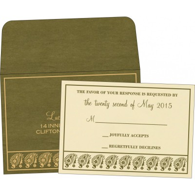 RSVP Cards - RSVP-8218A