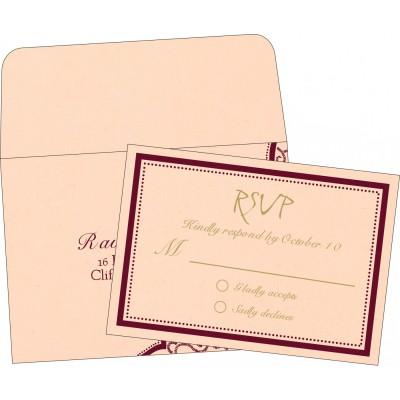 RSVP Cards - RSVP-8219D