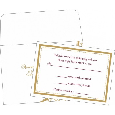 RSVP Cards - RSVP-8219H