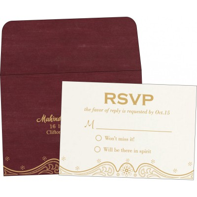 RSVP Cards - RSVP-8221P