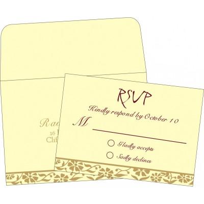 RSVP Cards - RSVP-8222F
