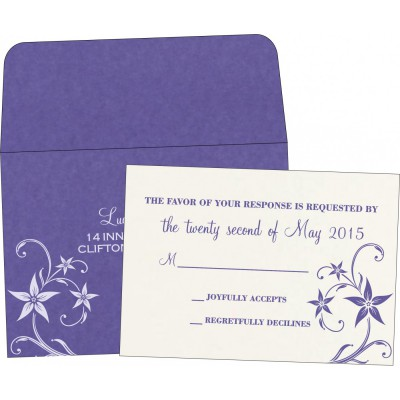 RSVP Cards - RSVP-8225H