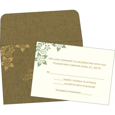 RSVP Cards - RSVP-8240F