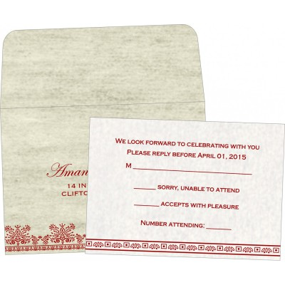 RSVP Cards - RSVP-8241B