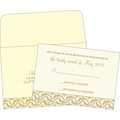 RSVP Cards - RSVP-8249B