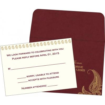 RSVP Cards - RSVP-8252A