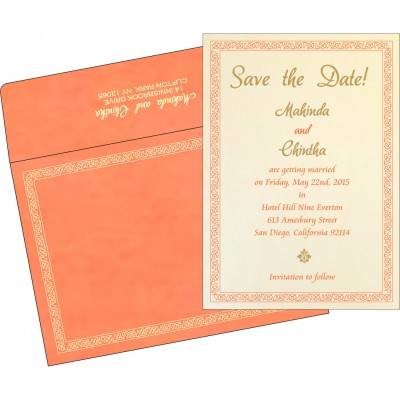 Save The Date - STD-8211F