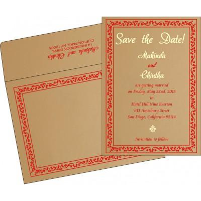 Save The Date - STD-8214F
