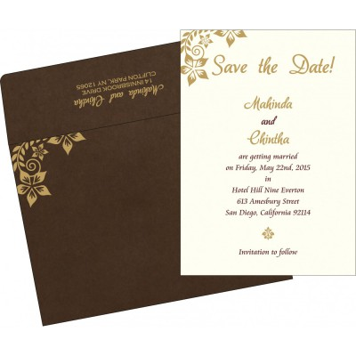 Save The Date - STD-8240E