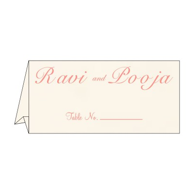 Table Cards - TC-1221