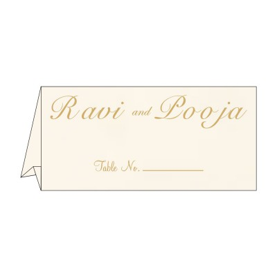 Table Cards - TC-1236