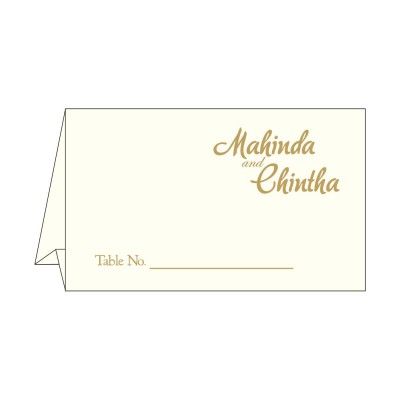 Table Cards - TC-2116