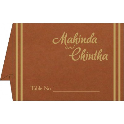 Table Cards - TC-2182
