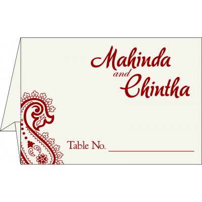 Table Cards - TC-5015G