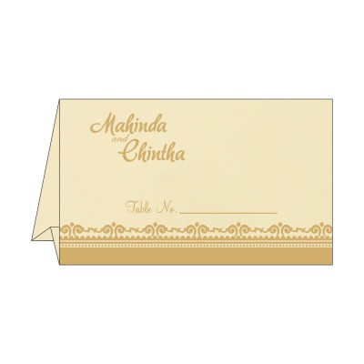 Table Cards - TC-8205R