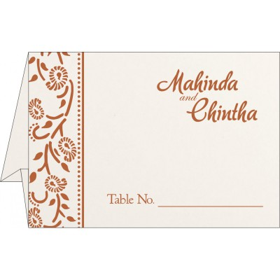 Table Cards - TC-8206G