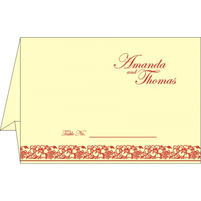 Table Cards - TC-8207A